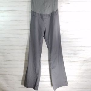NWT Motherhood maternity pants bootcut Grey sz M